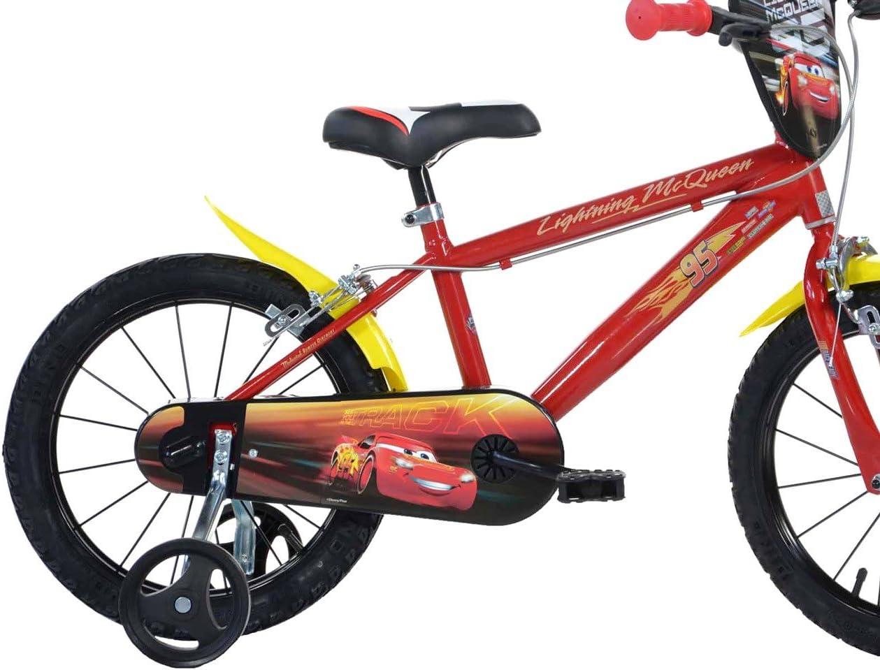Mediawave Store Bicicleta Niño Dino Bikes 416 ul-cs3 tamaño 16 Cars 3 Bicicletas Edad 4 – 7 años: Amazon.es: Deportes y aire libre