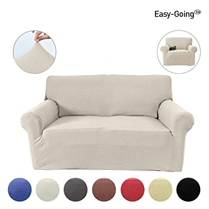 Easy Going Stretch Slipcovers, Sofa Covers, Furniture Protector Elastic  Bottom, Anti