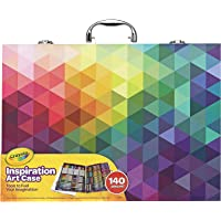 CRAYOLA 04 1999 Inspiration Art Case: 140 Pieces, Deluxe Set with Crayons, Pencils, Markers and Paper in a Portable…