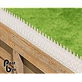Piques pour murs et clôtures - en bande - Paquet de 8 pièces - Transparente