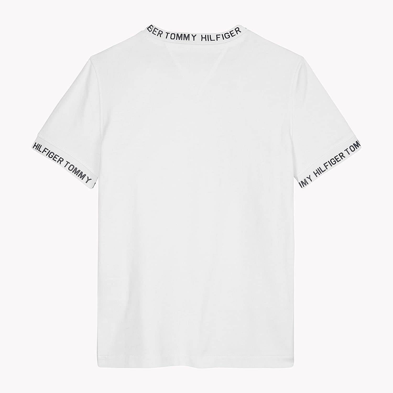 T-Shirt Bambino Tommy Hilfiger Printed Rib Tee S//S