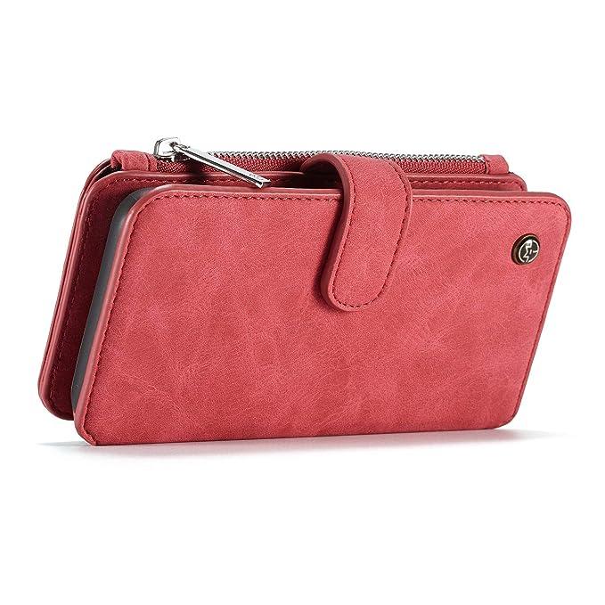 Easy Go Shopping Venta al por Mayor de la PU de Cuero Flip Case para el iPhone XsMax Cubierta, Bolso de la Cartera del Caso con 3 Ranuras para Tarjetas ...