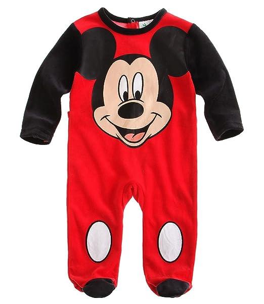 Disney Mickey bebé Traje Rojo rojo 86: Amazon.es: Ropa y ...