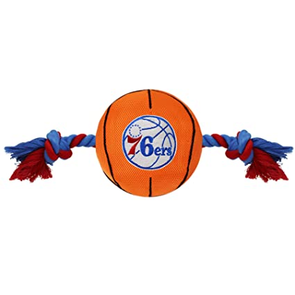 de3ecc948dfb Pet Supplies   NBA PHILADELPHIA 76ERS Basketball Toy. - Tough Nylon ...