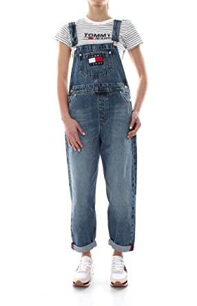lower price with sneakers outlet online Amazon.com: Salopette Tommy Jeans DW0DW05861 Hilfiger Denim ...