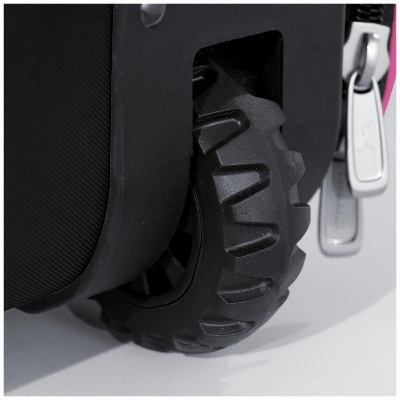 Boombah Beast Baseball/Softball Bat Bag - 40'' x 14'' x 13'' - Black/Pink - Holds 8 Bats, Glove & Shoe Compartments by Boombah (Image #5)