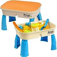 Niños Mesa para Arena y Agua con Tapa