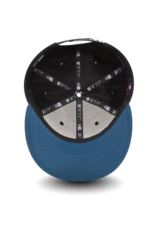 New Era Diamond Era Essenti 9Fifty Snapback Cap NY Yankees Schwarz Azurblau