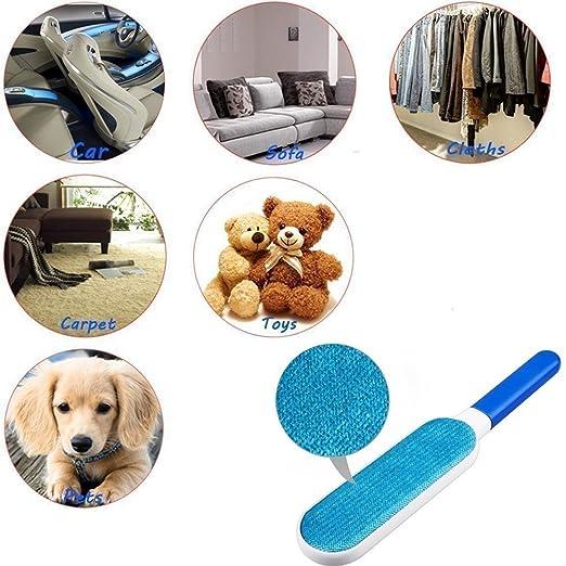 Remover-Pelusa Mágico-Removedor de Pelaje de Mascota-Reutilizable con base autolimpiante y mango más fuerte: Amazon.es: Productos para mascotas