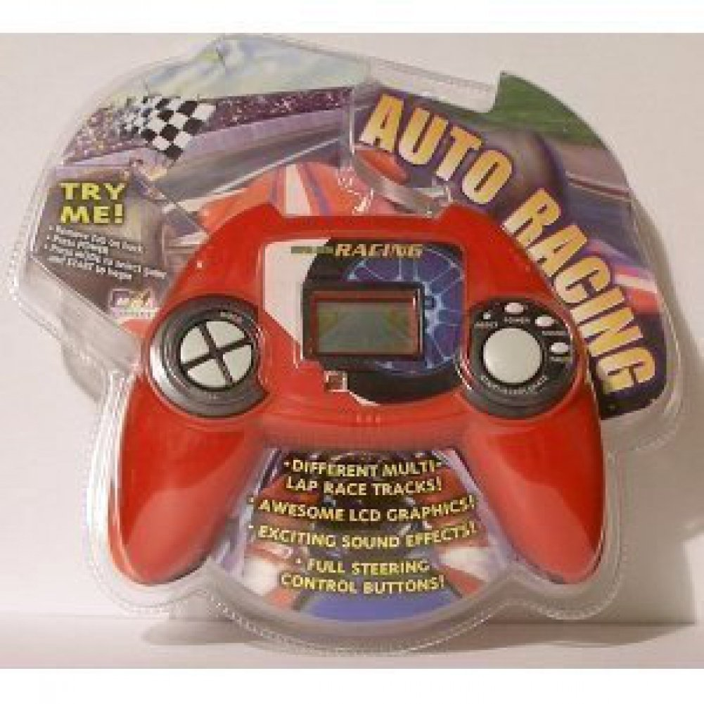 Electronic Hand Held Deluxe Sports Games - Auto Racing