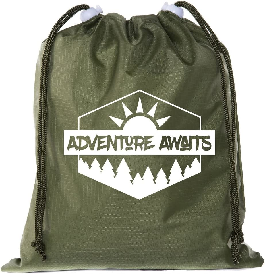 Mato /& Hash Mini Drawstring Camp Backpack|Camp Bags for Summer Camp and Parties
