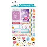 Paper House Productions STPL-0015 Kawaii Weekly Kit Planner Stickers, 3-pack