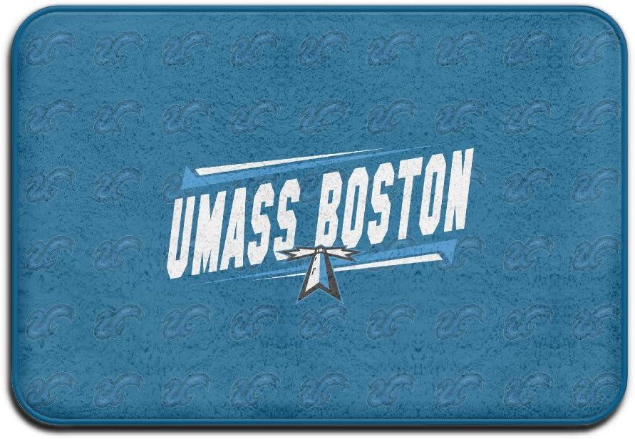 VDSEHT NCAA University Of Massachusetts UMass Boston Beacons Logo Non-slip Doormat
