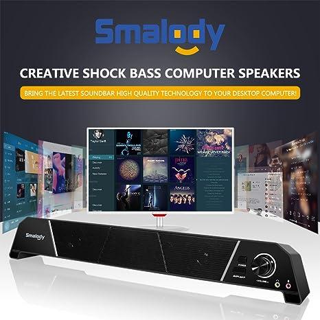 Consumer Electronics Smalody 9010 Computer Speaker Sound Blaster Dual Speaker Subwoofer Ps