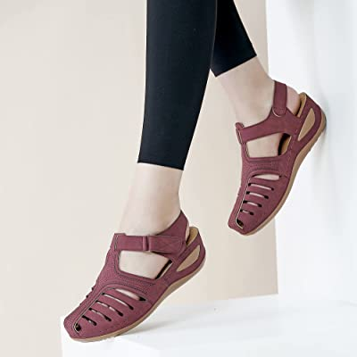 Details about  /Harence Summer Women Sandals Casual Bohemia Gladiator Wedge Shoes Ankle Strap Ca