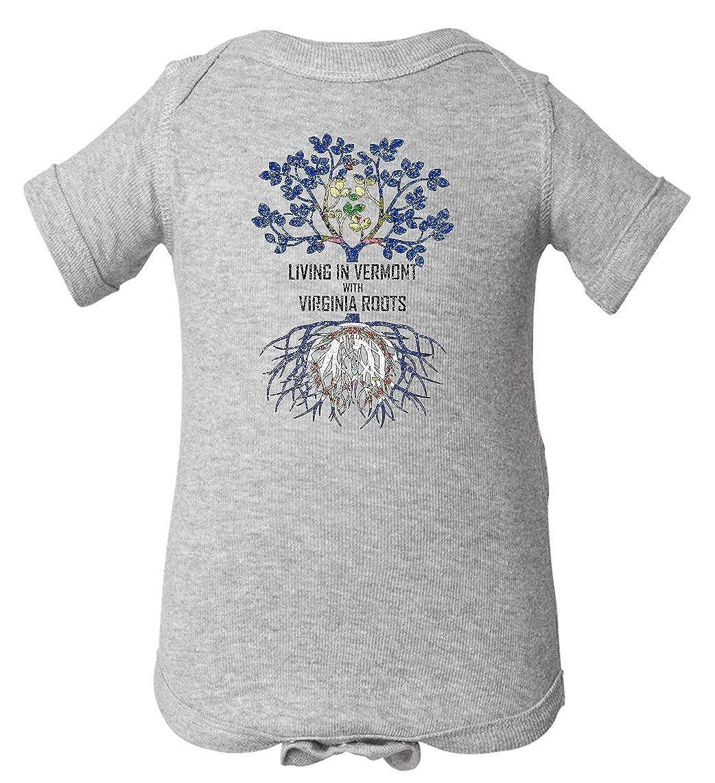 Tenacitee Babys Living in Vermont with Virginia Roots Shirt