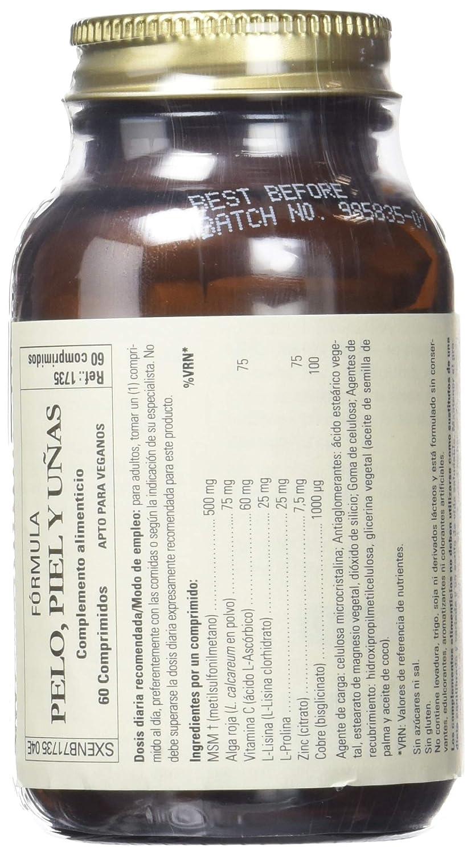 Solgar Fórmula para Pelo, Piel y Uñas - 60 Tabletas: Amazon.es: Salud y cuidado personal