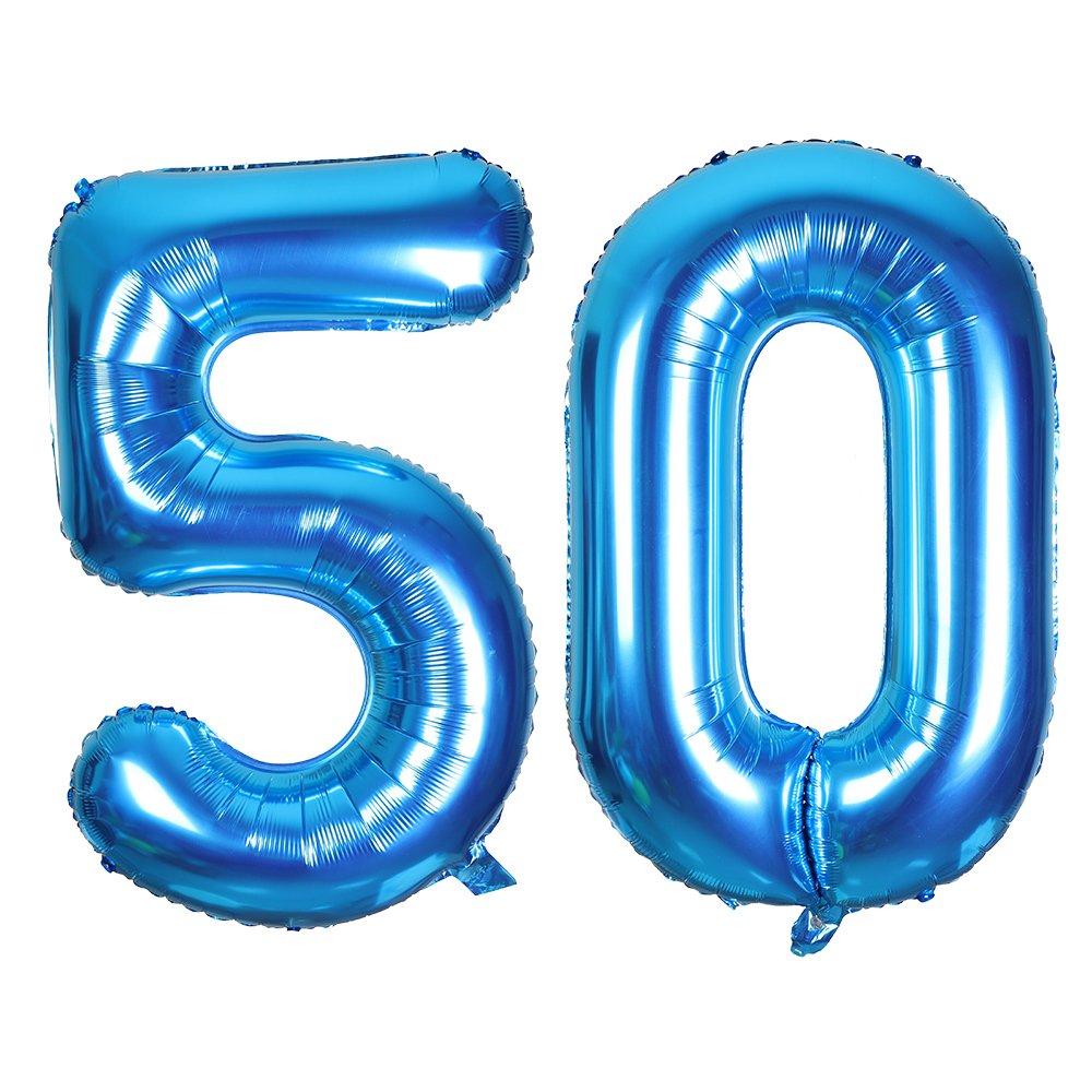SMARCY Globos Número (30 Dorado)