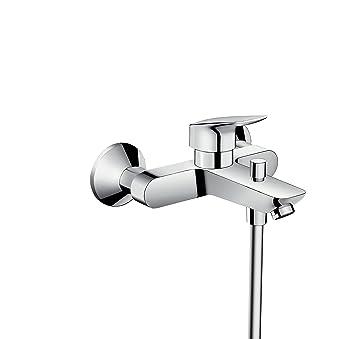 Hansgrohe 71400000 Logis grifo de bañera visto, cromo: Amazon.es: Bricolaje y herramientas