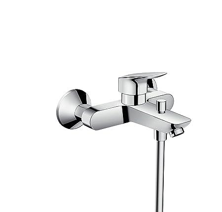 hansgrohe Logis bath and shower mixer, chrome: Amazon.co.uk: DIY & Tools