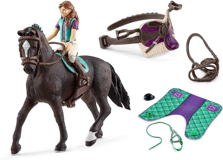 3in1 SET Schleich Pferde Horse Club Lisa Storm mit Decke