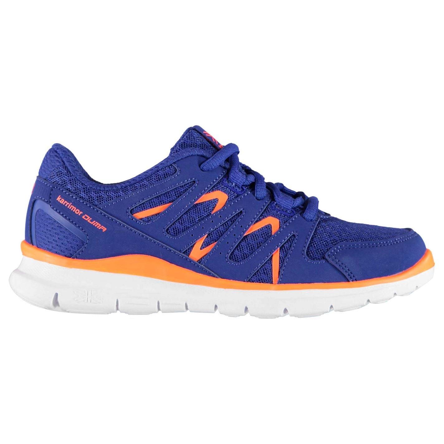 Karrimor Kids Duma Running Trainers Boys Shoes Breathable Mesh Sports Brilliant Blue UK C12 (31)