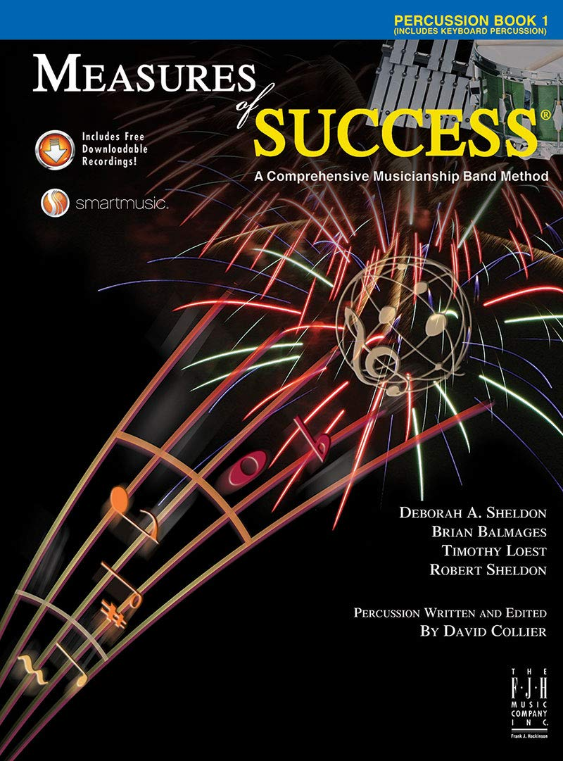 Download Measures of Success Percussion Book 1 pdf