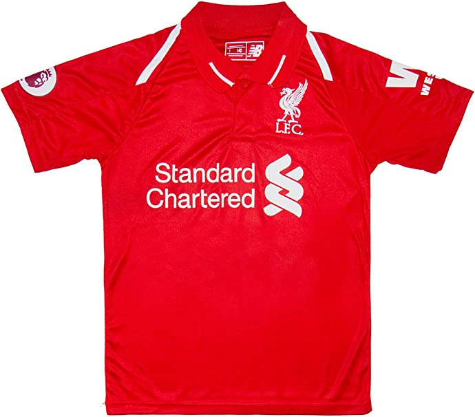 SVB Liverpool 2017/18 doméstica # 11 Salah – Niños Camiseta y ...