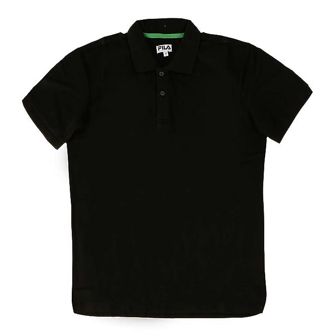 Fila Polo da Uomo Abbigliamento Donna Piquee reku: Amazon.it ...