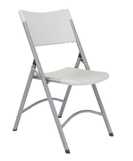 Amazon.com: National Public Seating - silla plegable liviana ...