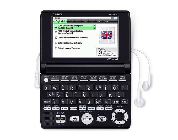 Casio EX-Word EW-G6600C Elektronisches Wörterbücher für Deutsch ...