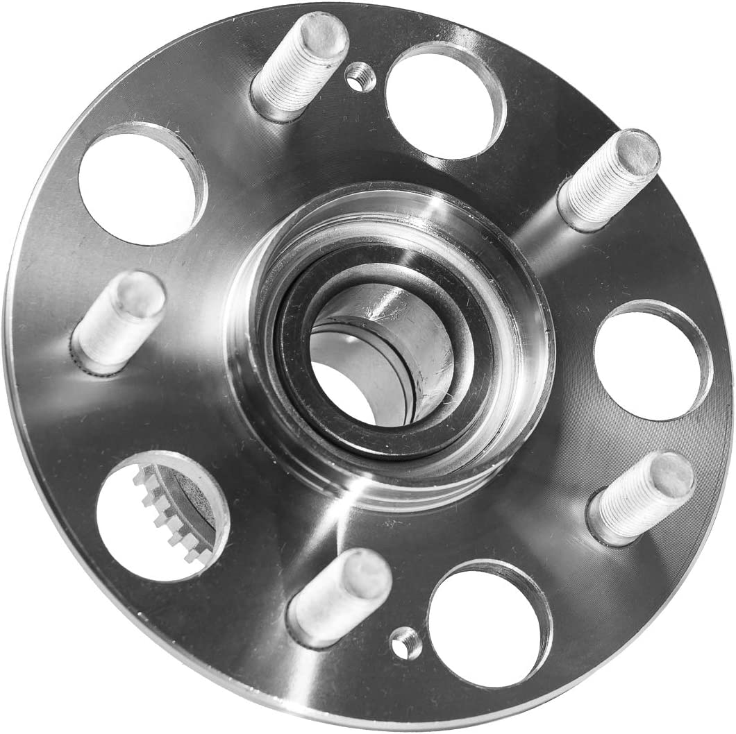 TUCAREST 512179 Rear Wheel Bearing and Hub Assembly Compatible With 1998 1999 2000 2001 2002 Honda Accord 99-03 Acura TL 5 Lug W//ABS V6 3.0L;Rear Break:Disc 4-Wheel ABS Models Only