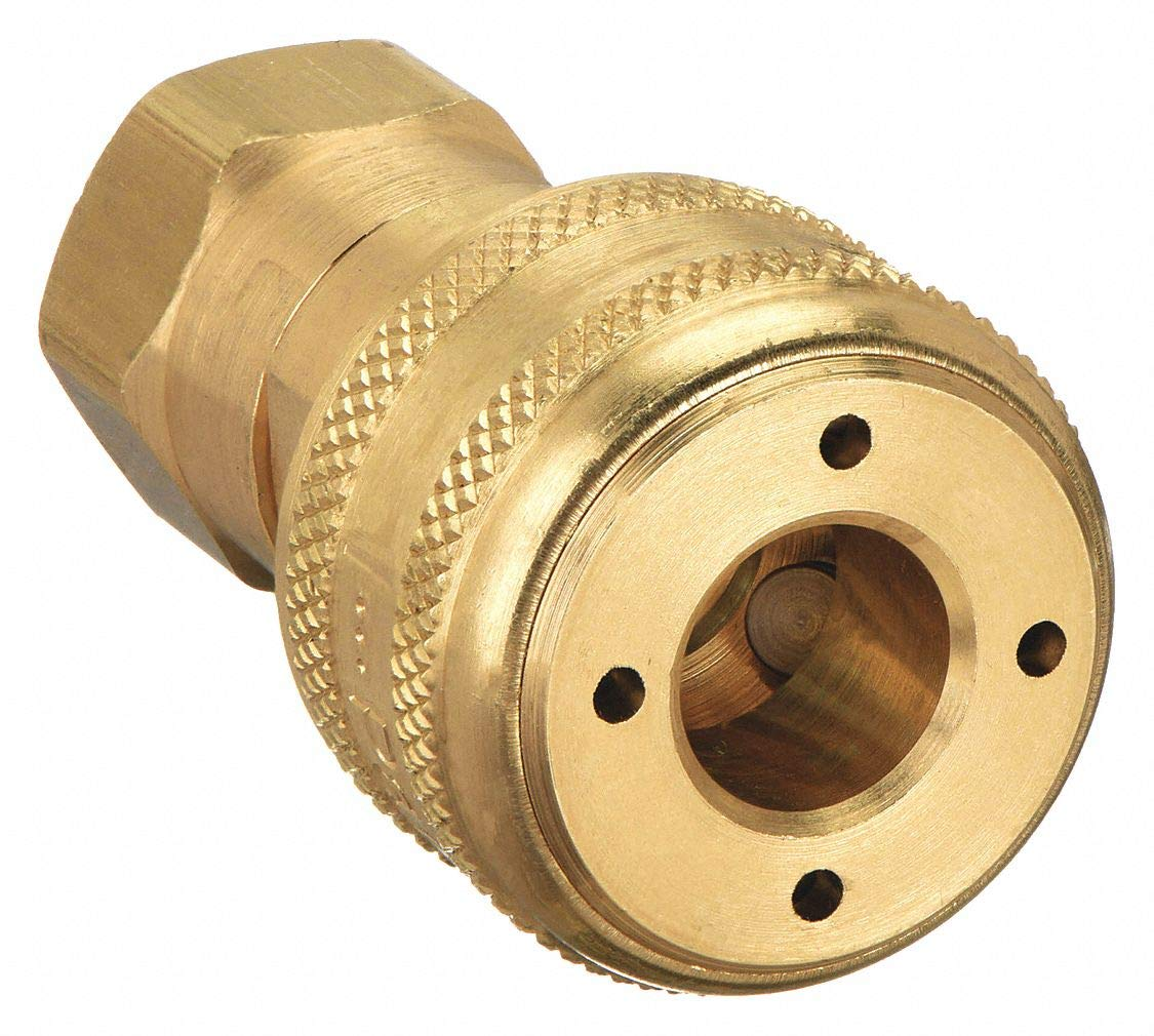Brass FNPT Coupler Body 3//8 In Pipe