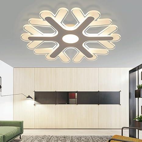Creative Minimalist Lámpara de techo moderna para dormitorio ...