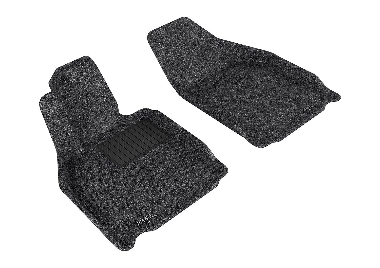 Classic Carpet 3D MAXpider Complete Set Custom Fit Floor Mat for Select Porsche 911 Models Black