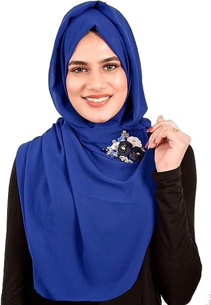 2020 Women Thin Chiffon Scarf Muffler Muslim Hijab Head Scarves Wrap Shawl Gift