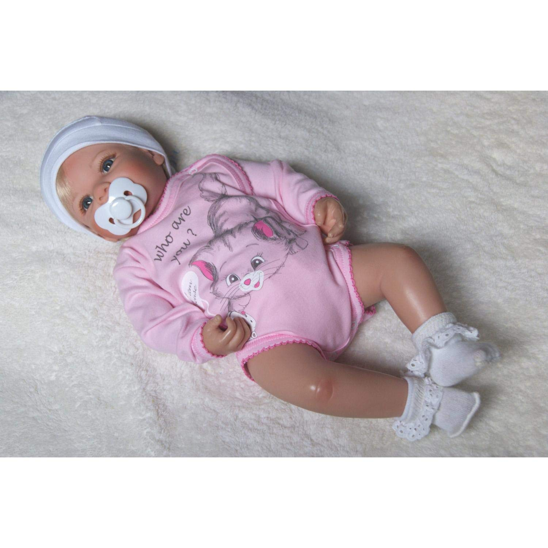 TupTam Unisex Baby Wickelbody mit Aufdruck 5er Set