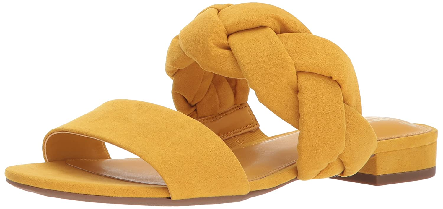 Circus by Sam Edelman Women's Danielle Slide Sandal B073XZ9Q7V 6 B(M) US|Golden Yellow