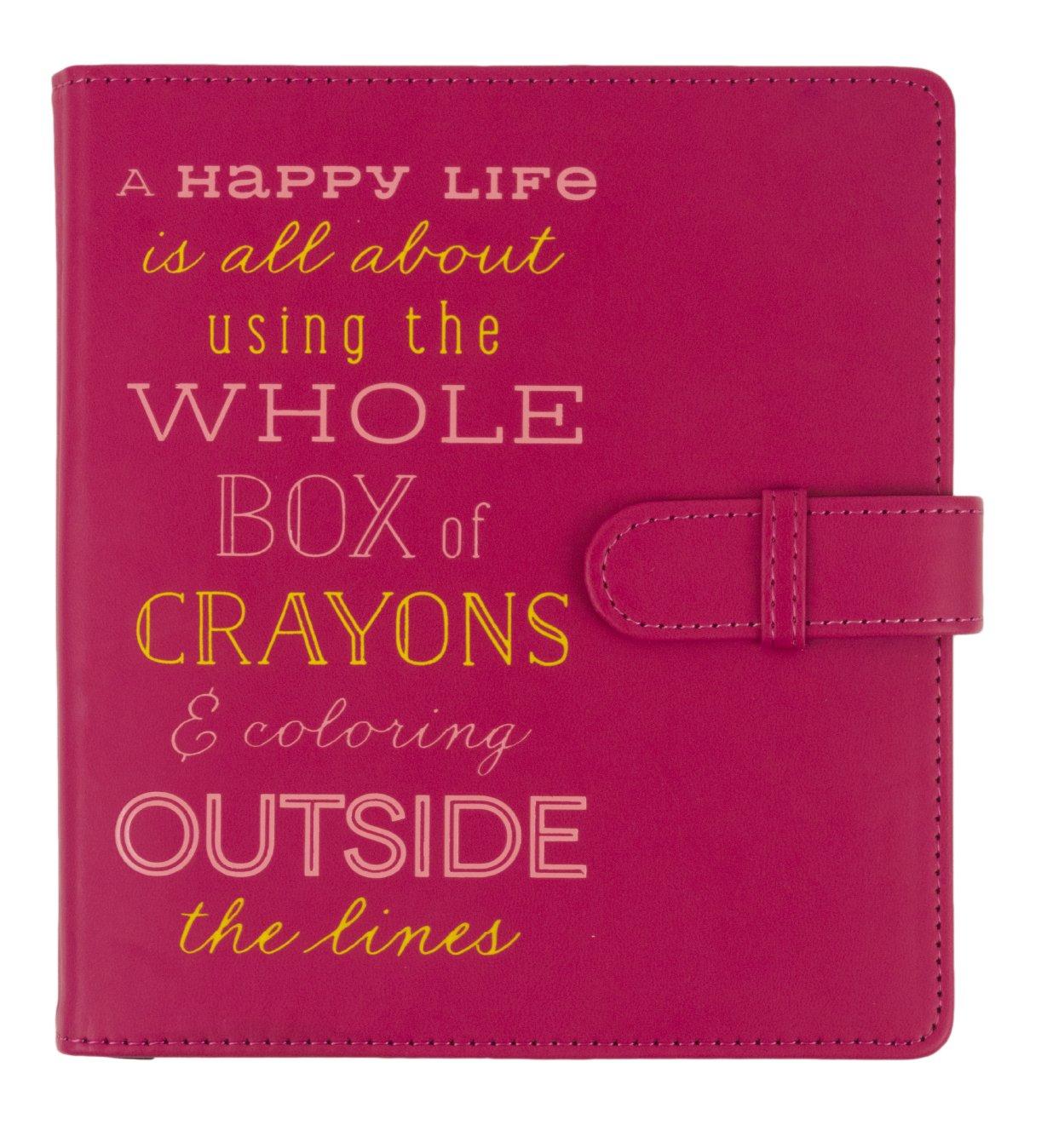 Eccolo World Traveler Rainbow Art Pencil & Sketchpad Set, Happy Life (D915C)