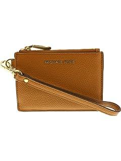 6bafb8ded696 MICHAEL Michael Kors Women s Adele Double Zip Wristlet  Handbags ...
