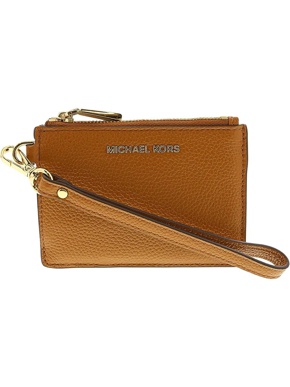 d4b3c4720215 Amazon.com: MICHAEL Michael Kors Mercer Leather Coin Purse (Acorn): Michael  Kors: Shoes