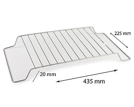 De acero inoxidable 435 mm x 225 mm de refrigeración de bandeja de ...