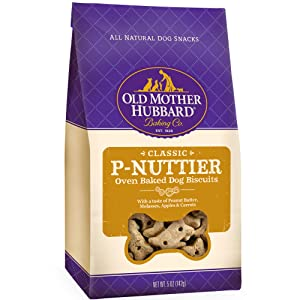 Old Mother Hubbard Crunchy Classic Natural Dog Treats, Mini Biscuits