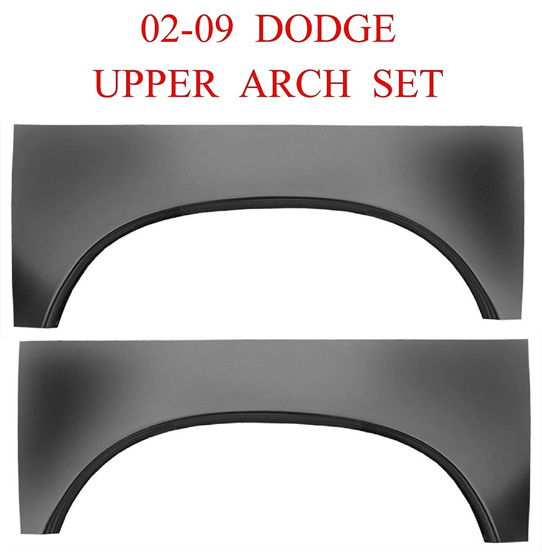 NIB L/&R Rear Bed Side 1.2MM Thick Ram Truck 02 09 Dodge Upper Wheel Arch Set