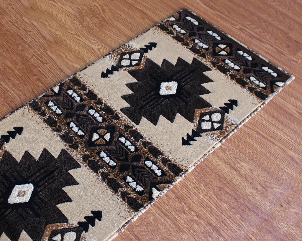 South West Runner Rug 2 Ft X 7 Ft Berber Design # C318