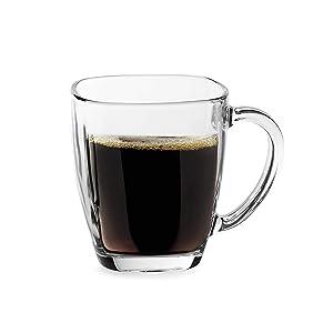 Libbey Tempo Square Glass 14-Ounce Mug