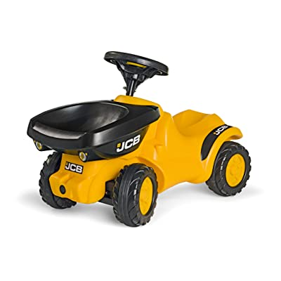 rolly toys JCB Construction Ride-On: Front-Tipping/Dumping Tractor, Youth Ages 1.5+: Toys & Games