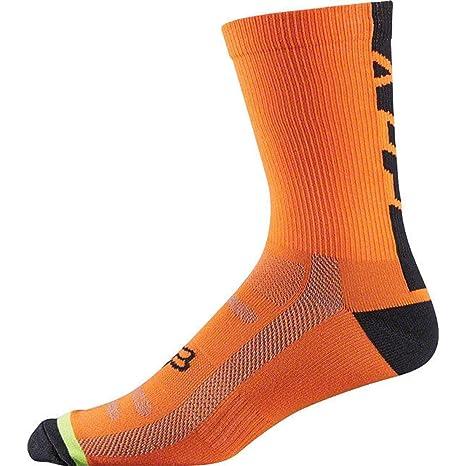 Calcetines para Hombre Fox DH 6, Hombre, Fluorescent Orange