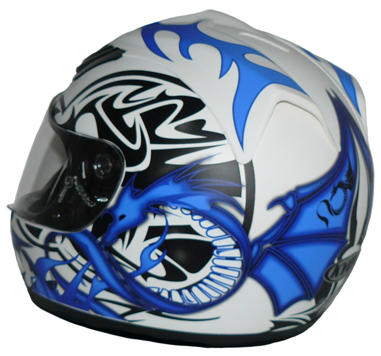 Protectwear Motorcycle helmet matt black H-510-ES Size M