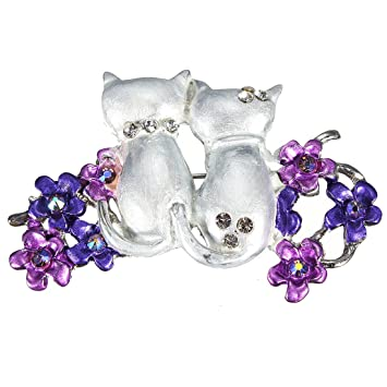 broche epingle a nourrice pince strass cristal bijoux animal mariage soire mode - Epingle A Nourrice Mariage